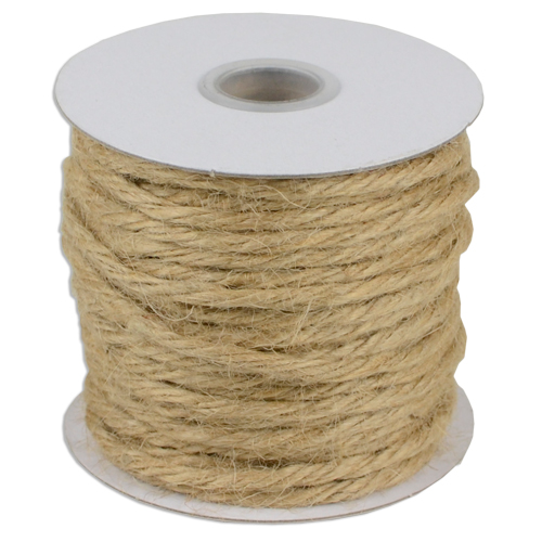 Natural 3.5mm Jute Twine 25 Yards