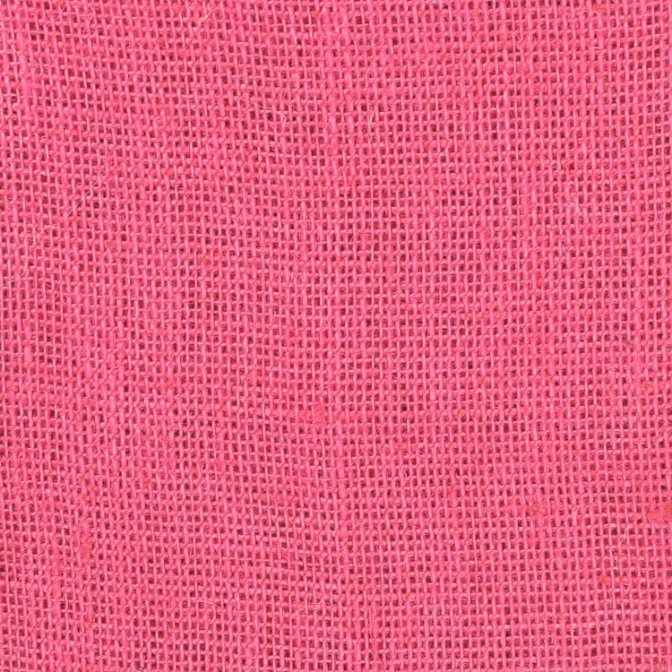 Snap Pink Burlap Fabric- By The Yard