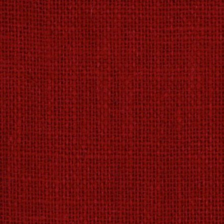 Red by the yard cbroll 60w bty red 11oz for Colored burlap fabric