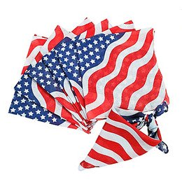 "Stars and Stripes Bandanas 22"" x 22"" (12 Pack)"