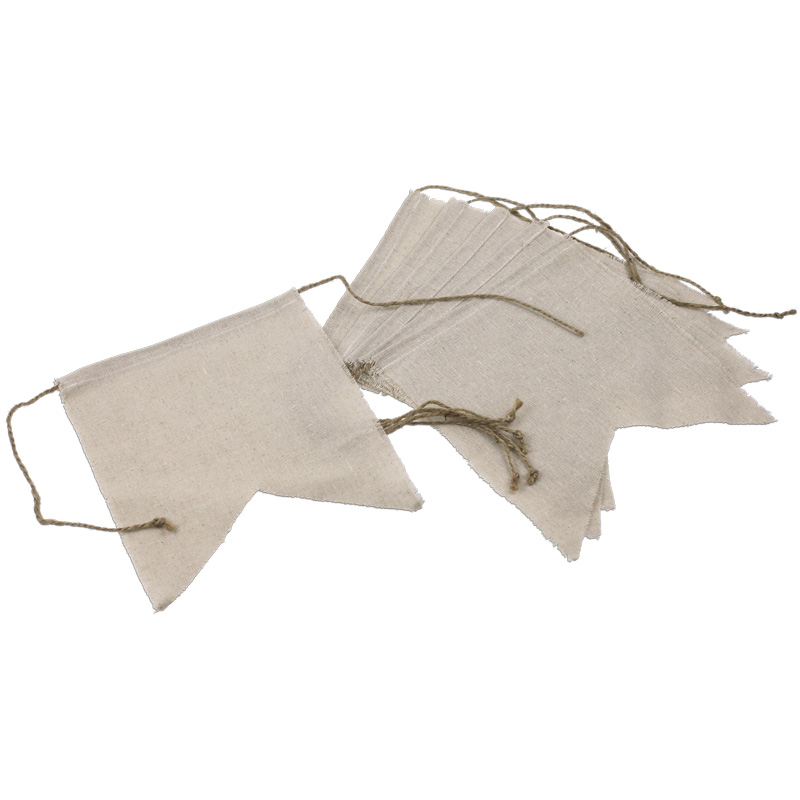 "8"" x 10"" Linen Pennant Swallow Tail (6 Pk)"