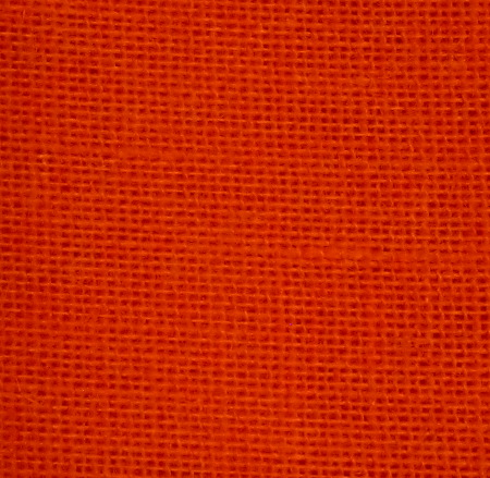 Tangerine Colored Burlap By The Yard