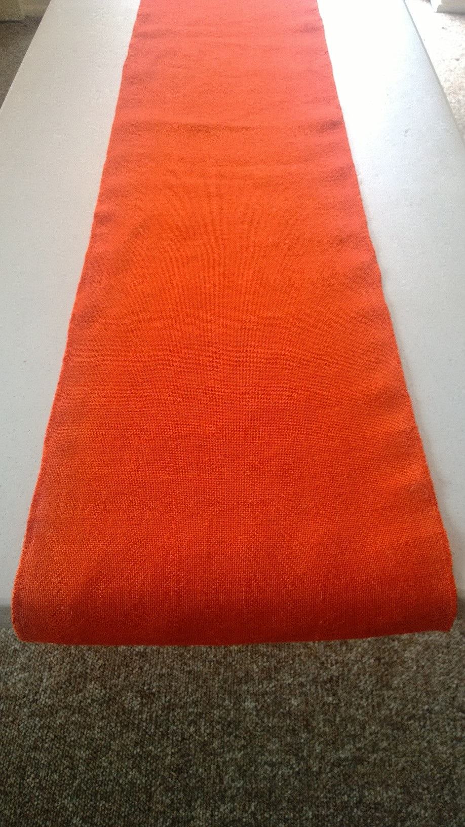 Tangerine Table Runner