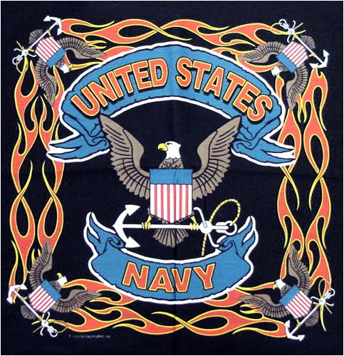 United States Navy Bandanas (12 Pack)