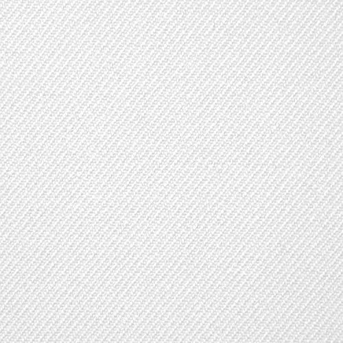 "59/60"" White Gabardine Fabric By The Yard"