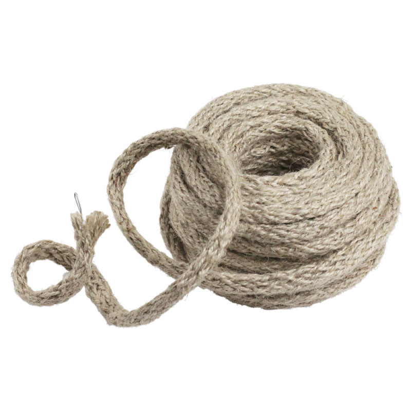 Off White Wired Jute Twine - 9 Yards