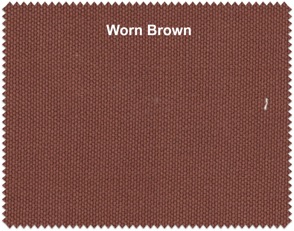 Worn Brown 12 Oz Canvas Fabric By The Yard