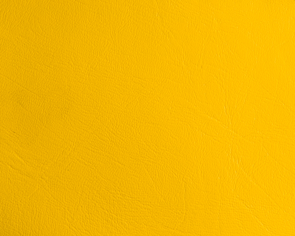 "54"" Yellow Leather-like Upholstery Vinyl - per Yard"