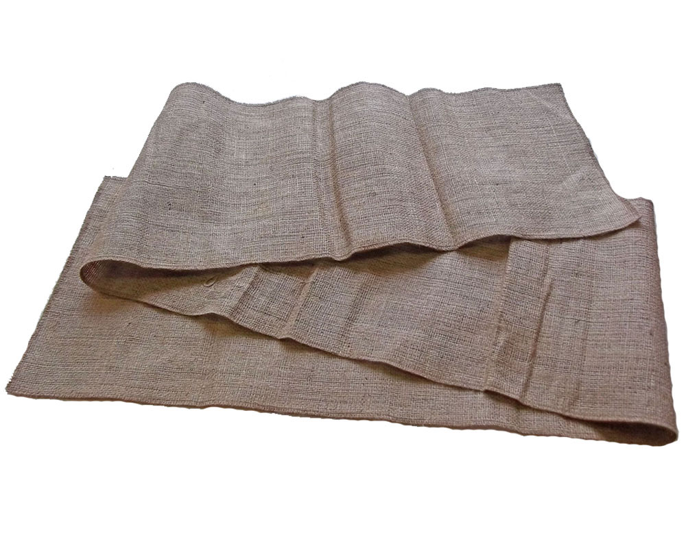 "Burlap Table Runner 12"" x 34 Feet - Click Image to Close"