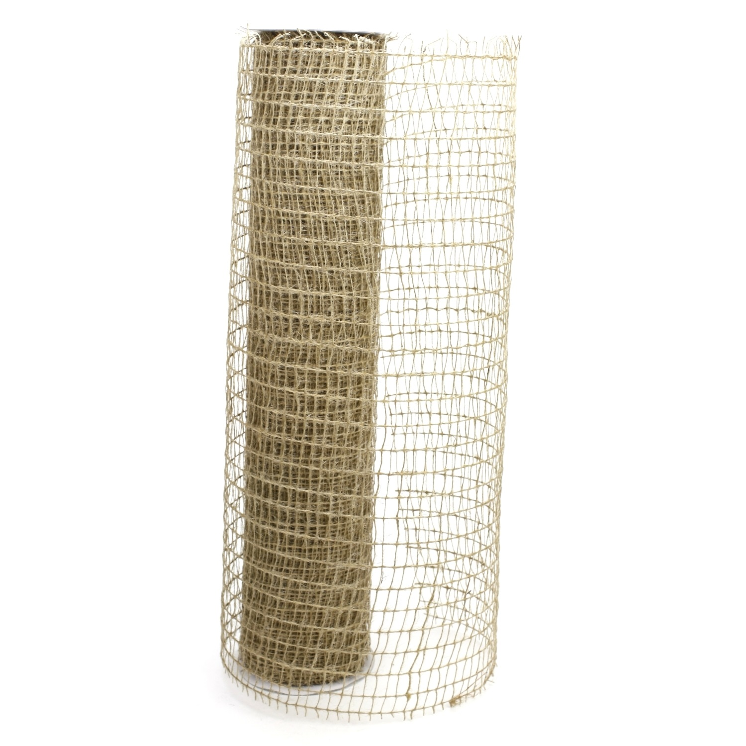 "Net Burlap Ribbon - 20"" x 30ft (10 Yards)"