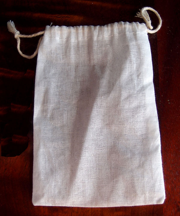 "Cheesecloth Bags with Cotton Drawstring 4"" x 6"" (12 pk)"