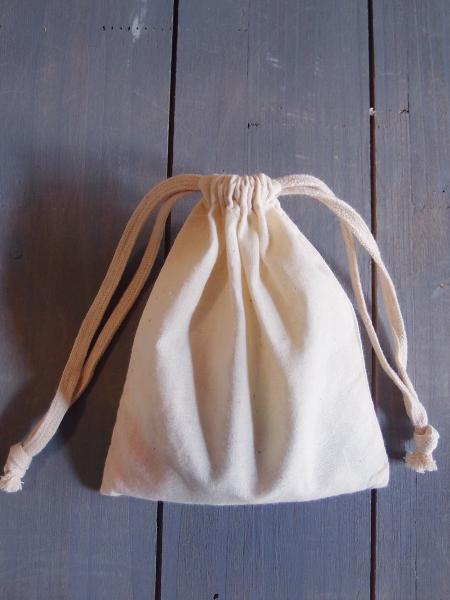"5"" X 6"" Muslin Bags With Cotton Drawstring (12 PK)"