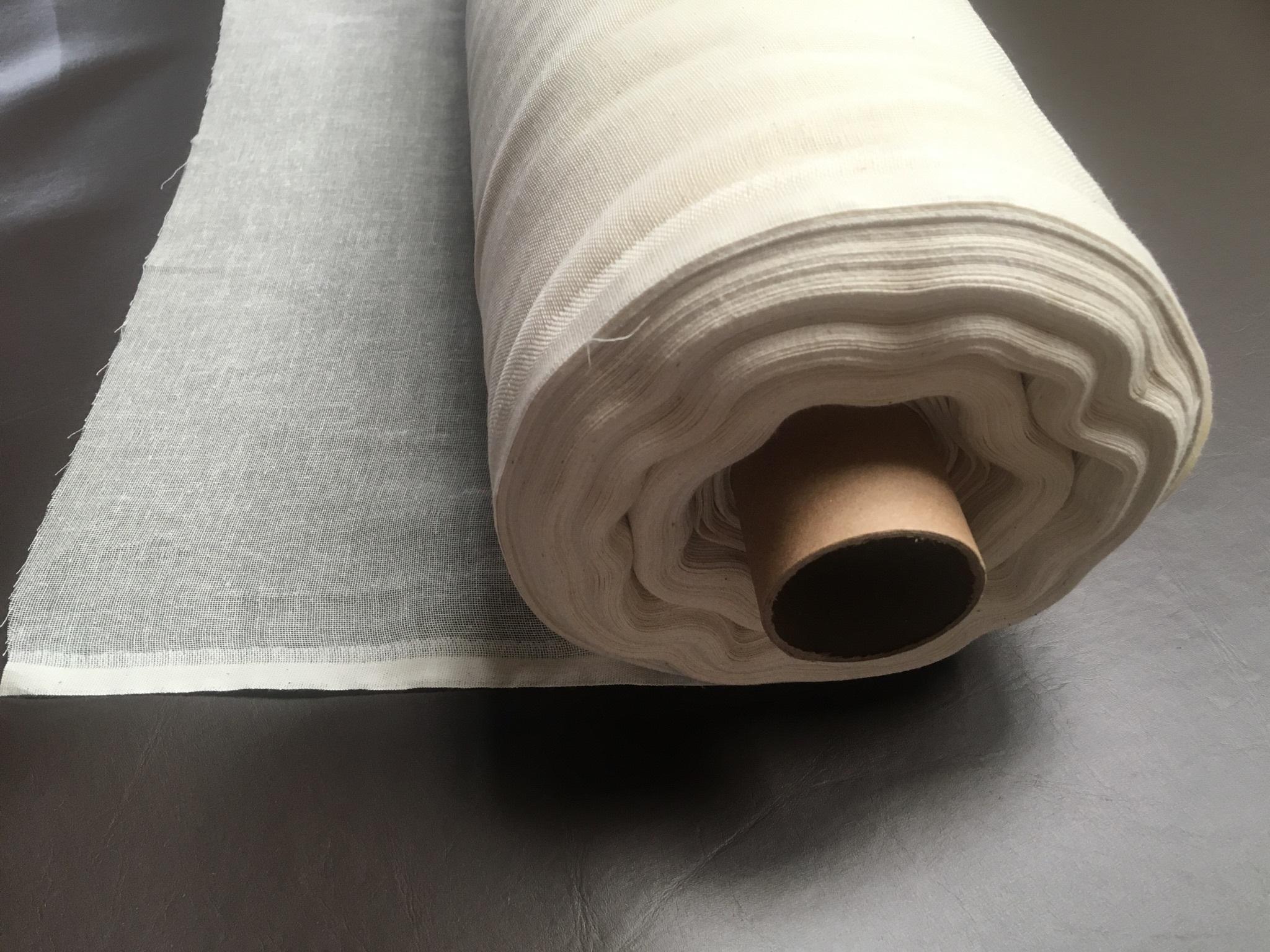 "Grade 60 Cheesecloth 100 Yard Roll 60"" Wide Natural (Seamed)"