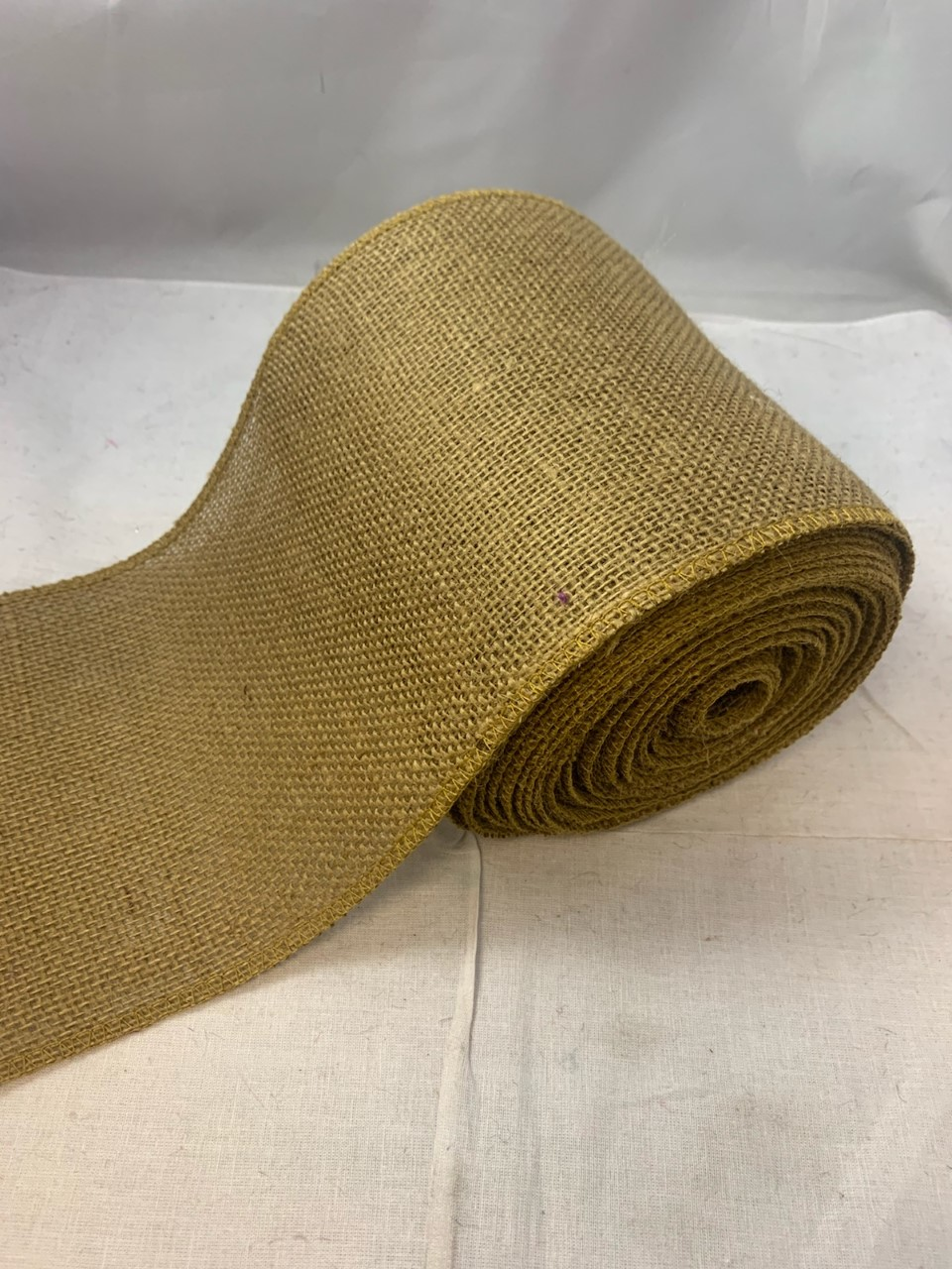 "6"" Idaho Burlap Ribbon - 10 Yard Roll"