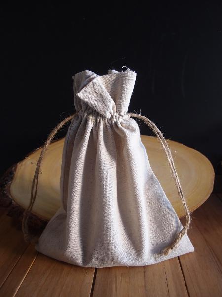 8 x 10 Linen Favor Bags with Jute Draw (dozen)