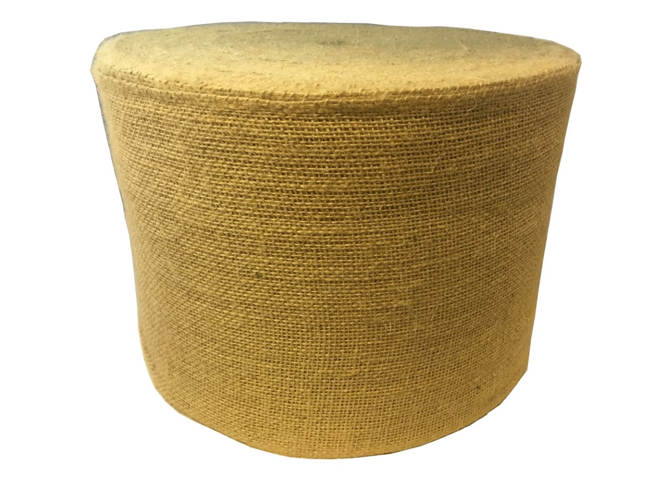 "8"" Premium Burlap Roll 100 Yards Sewn Edges"