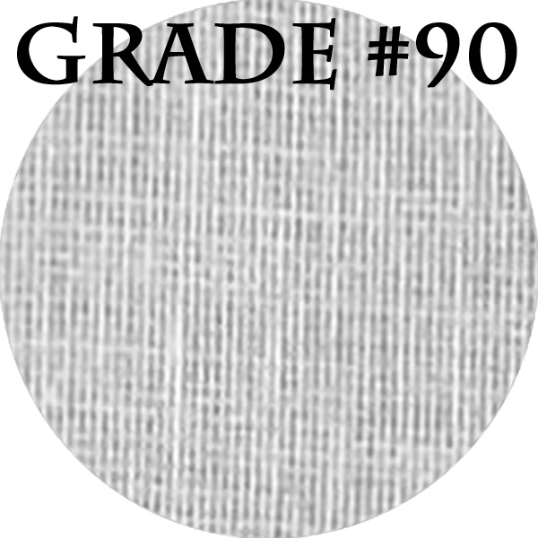 "Grade 90 White Cheesecloth - 6"" x 6"" Squares (100 Pack)"