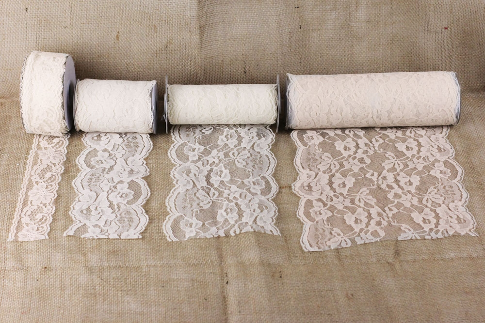 Lace Ribbon Burlapfabric Com Burlap For Wedding And