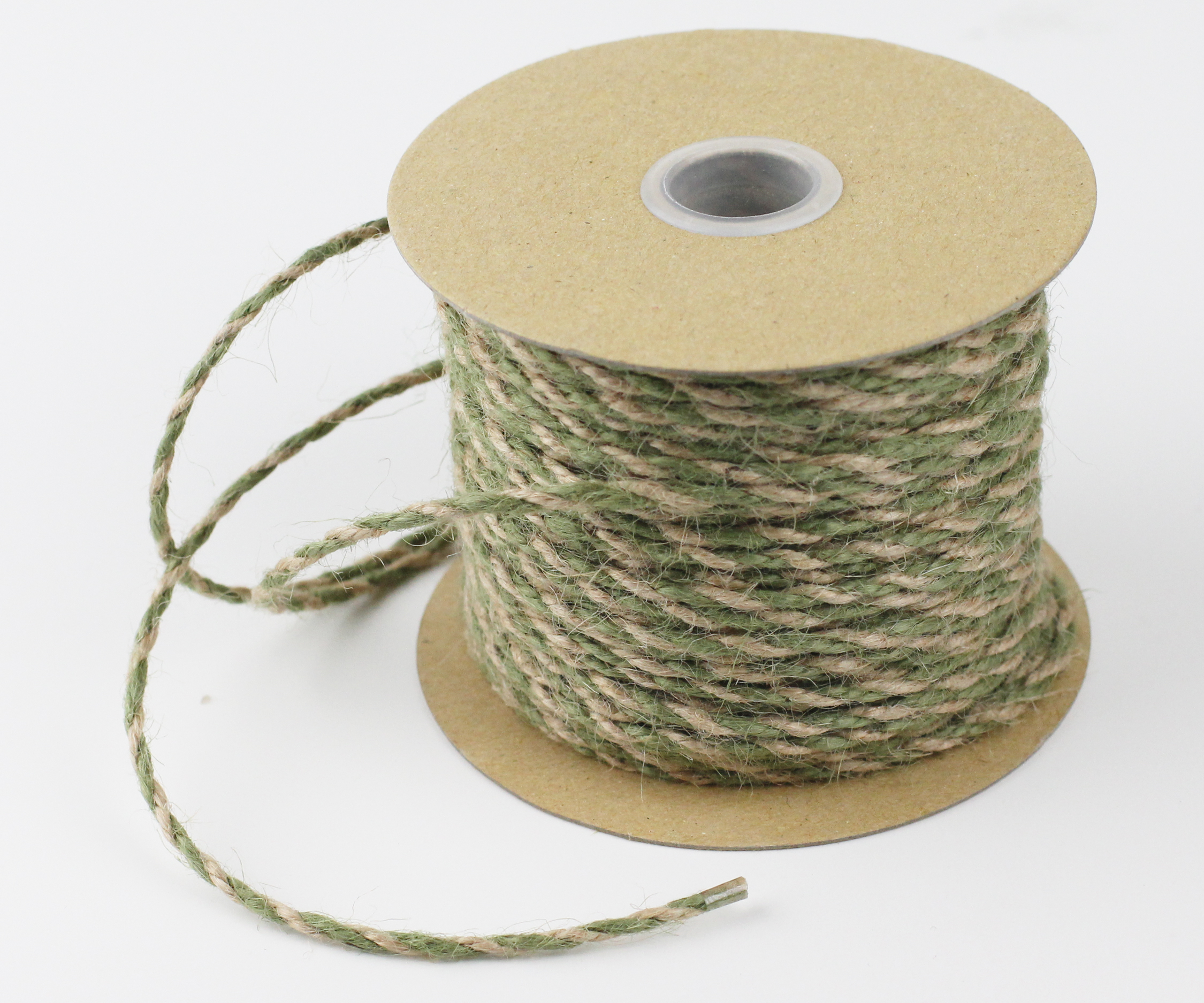 2.5 mm Moss/Natural Jute Twine - 50 Yards