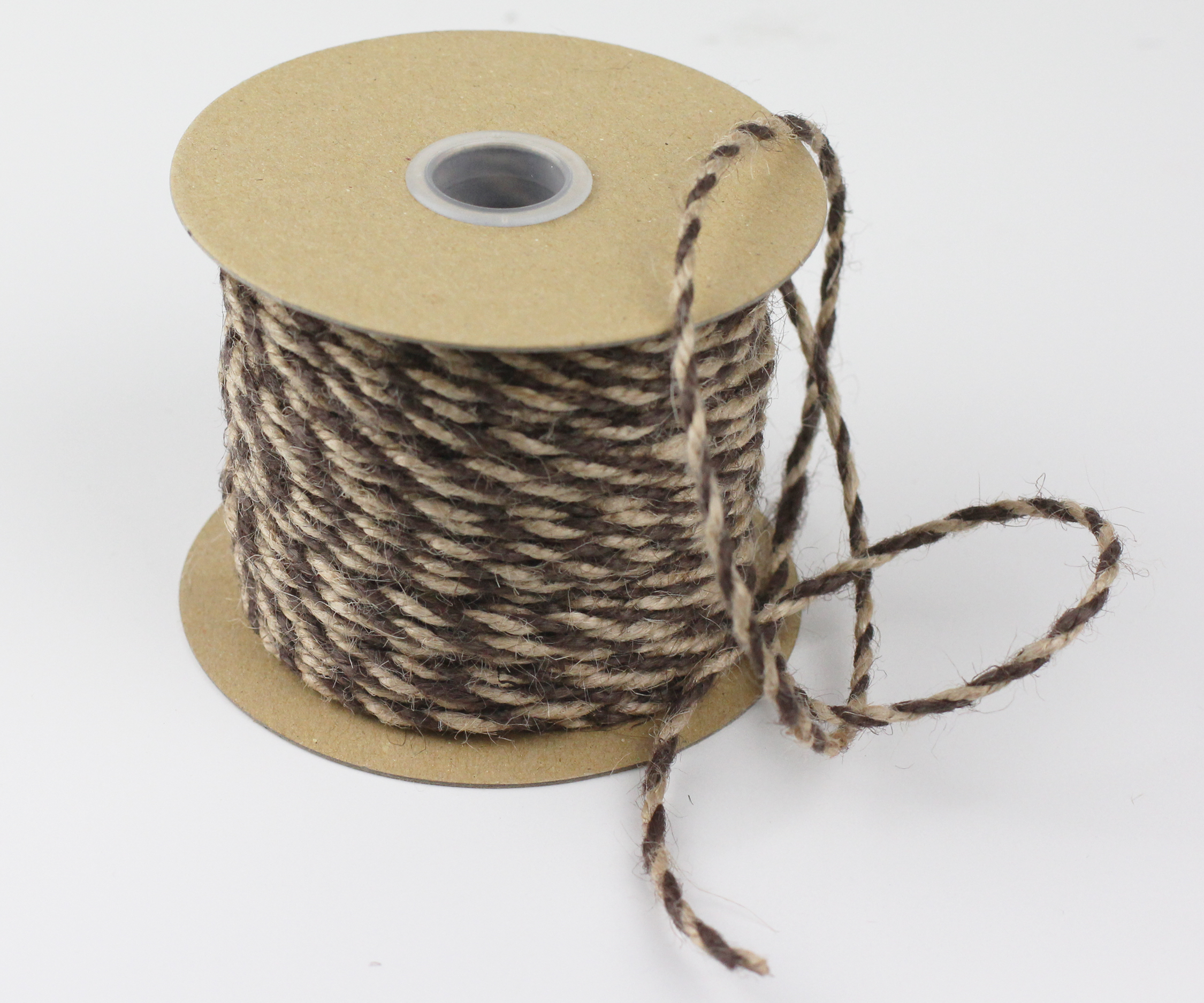 2.5 mm Brown/Natural Jute Twine - 50 Yards