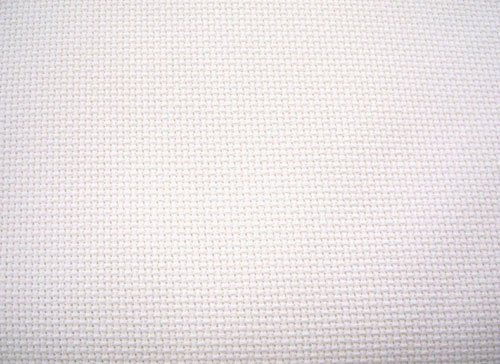 "14 Count Aida Cloth - White, 60"" Wide By The Yard"