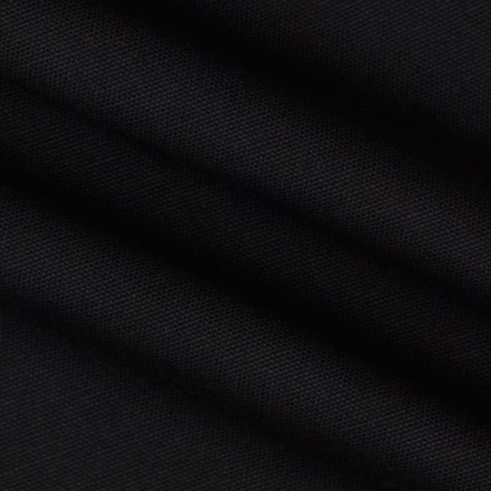 "7oz Duck Cloth Black 55"" Wide By The Yard - Click Image to Close"