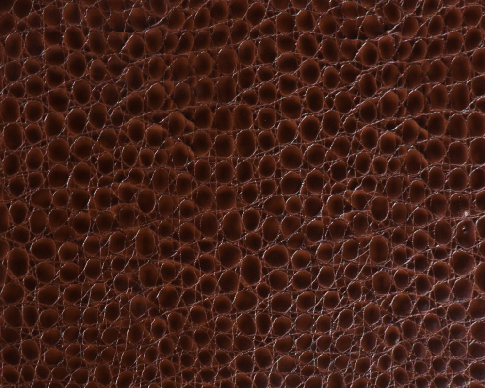 "54"" Brown Crocco Faux Leather Fabric - By The Yard"