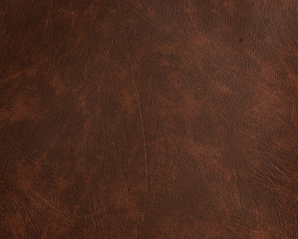 "54"" Brown Print Faux Leather Like Upholstery Vinyl - Per Yard"