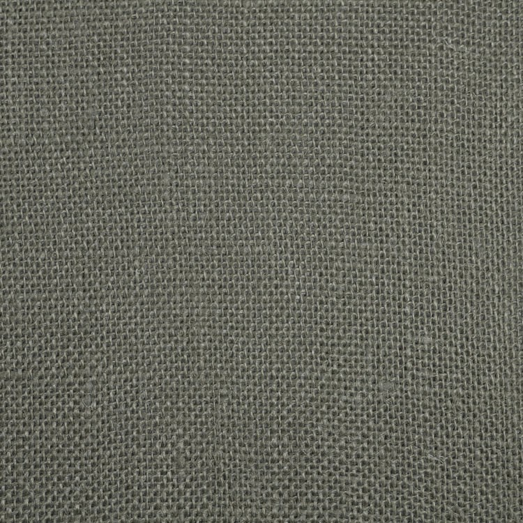 "45/48"" Wide Charcoal Grey Burlap By The Yard"