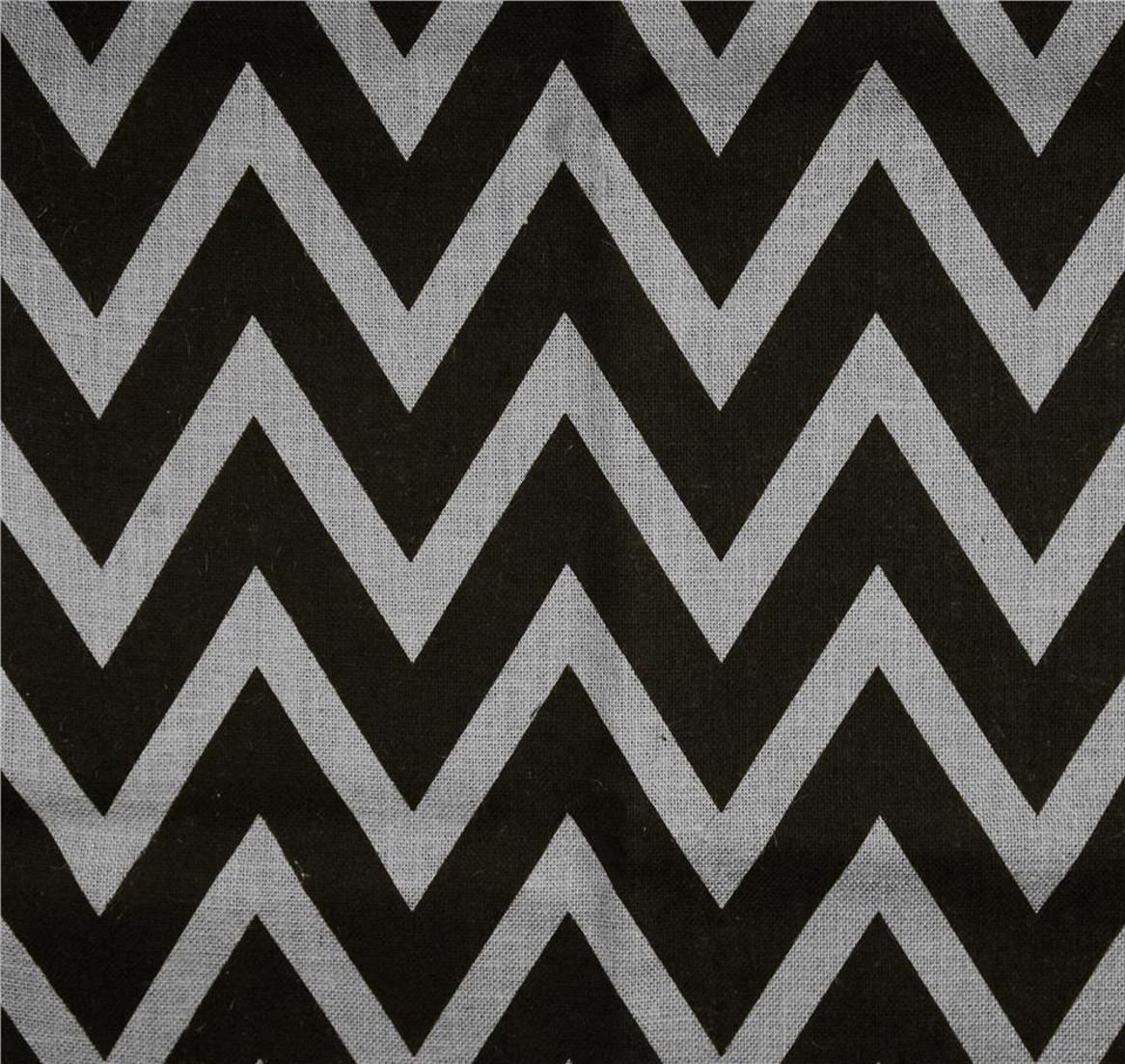 Light Grey Black Chevron Burlap 60 By The Yard Cbroll