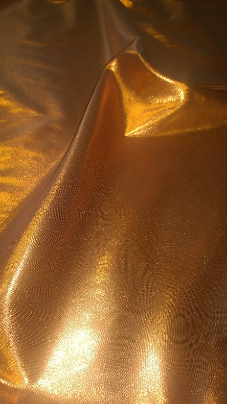 "45"" Copper Lame Fabric - Per Yard"