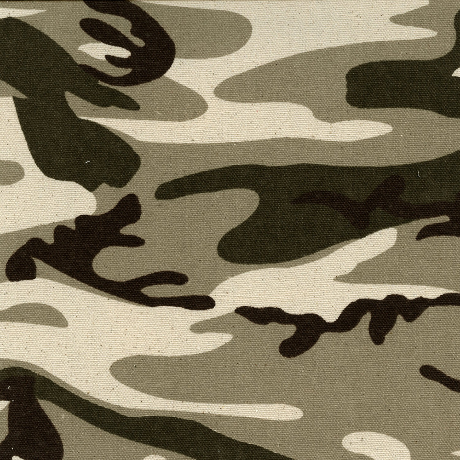 "Desert Tan Camo Duck Cloth 60"" 9.3oz By The Yard"