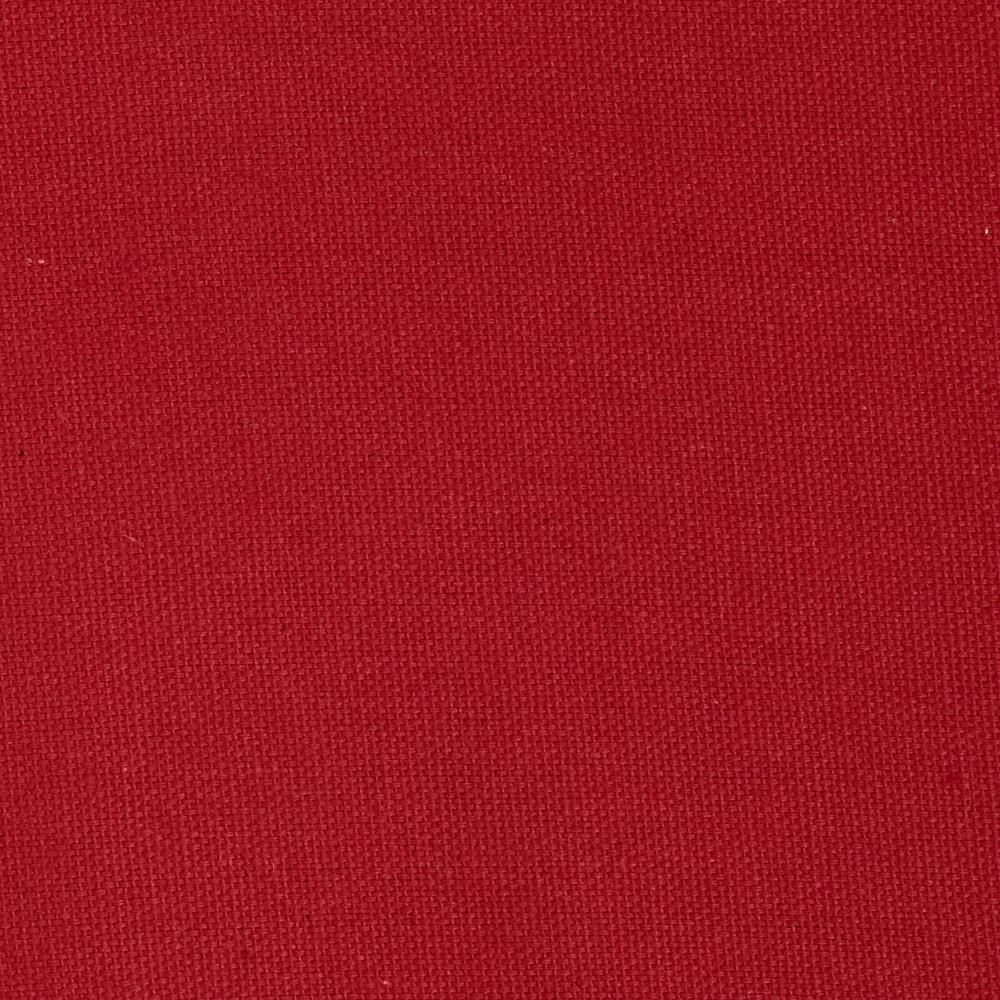"7oz Duck Cloth Red 55"" Wide By The Yard"