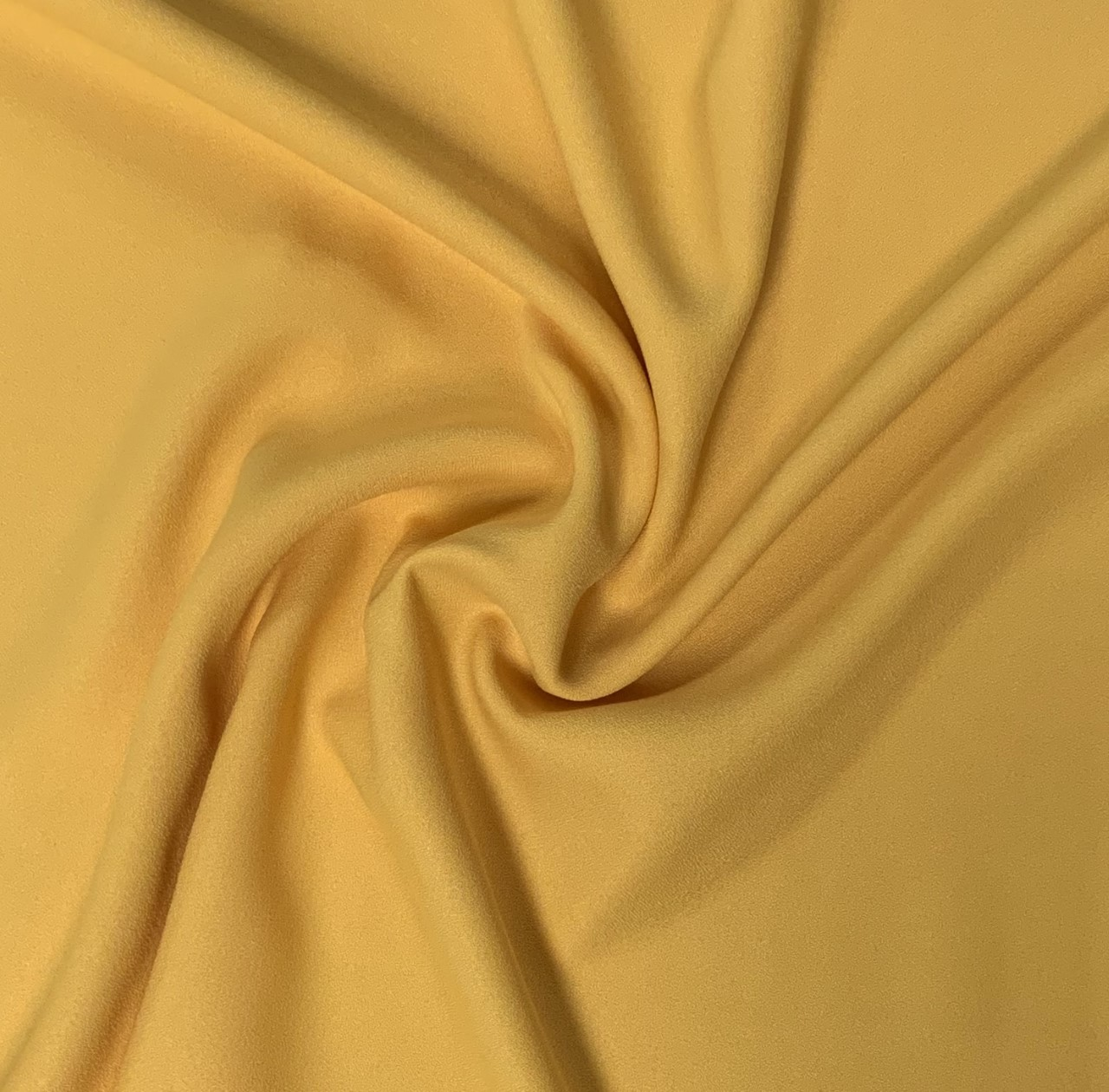 "Gold Crepe Fabric - 60"" by the yard (100% polyester)"