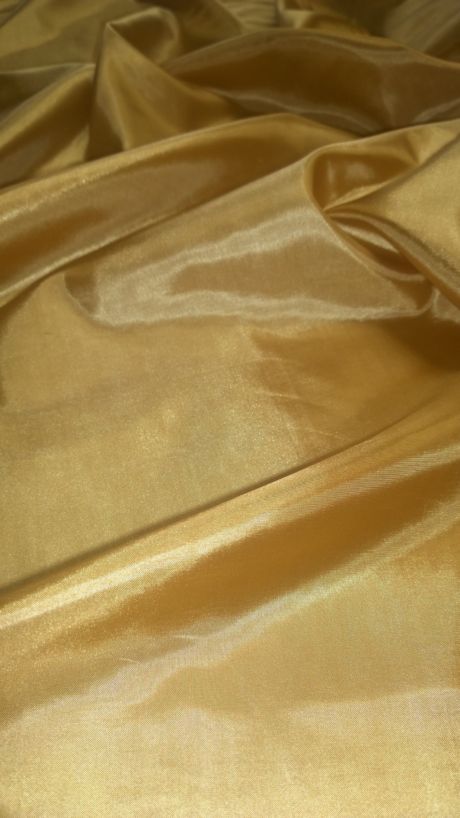 "Antique Gold Habotai Fabric 60"" - By The Yard"