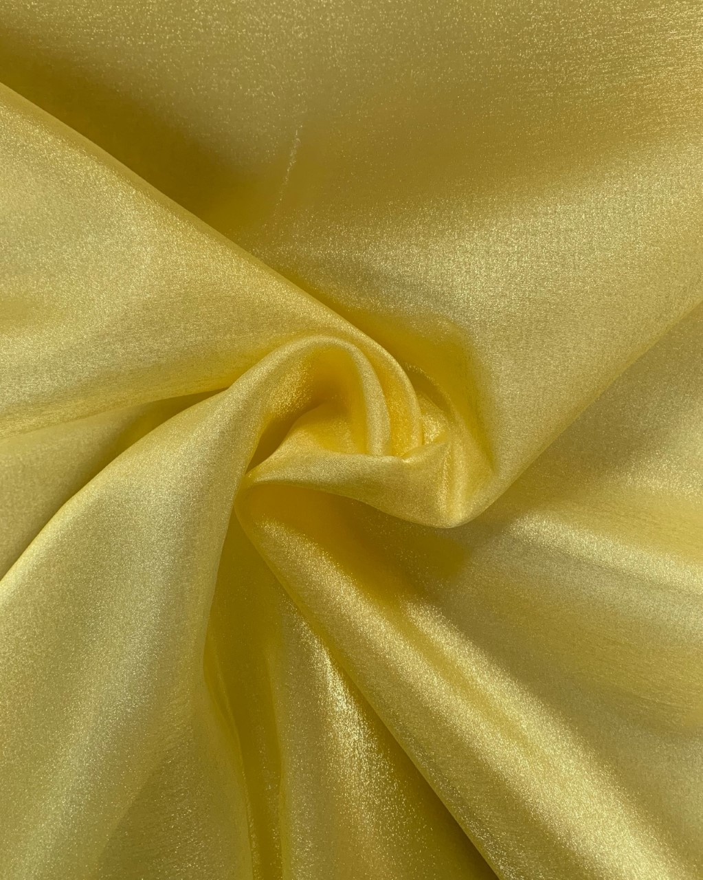 "45"" Gold Sparkle Organza Fabric - 100% Nylon (Per Yard)"