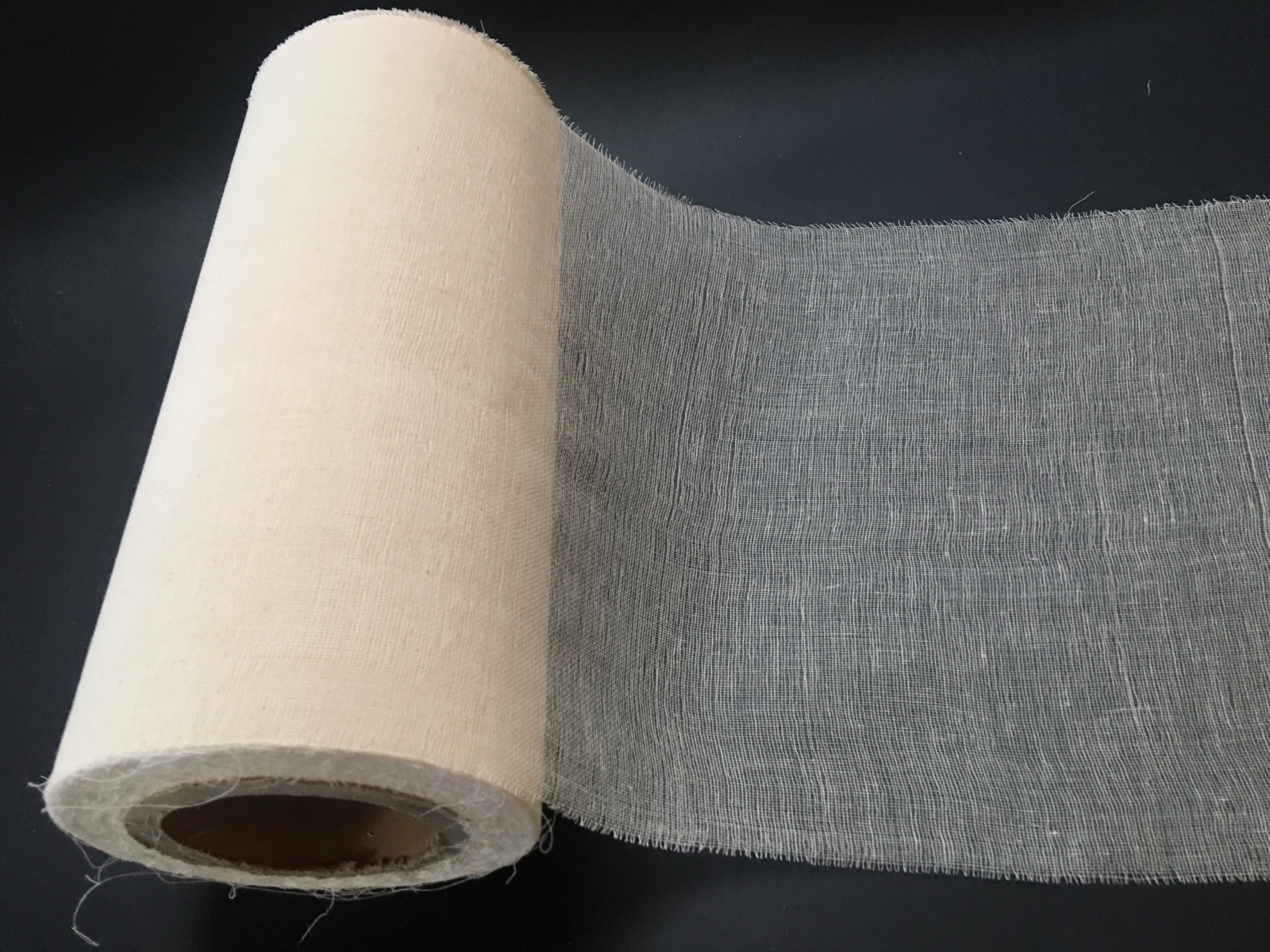 "12"" Cheesecloth Roll - 100 Yards Unbleached Grade 50"