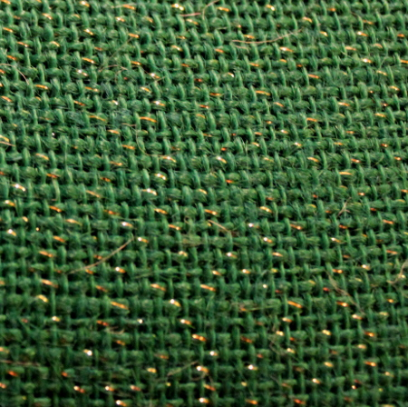 "60"" STABRIGHT GREEN BURLAP - BY THE YARD"