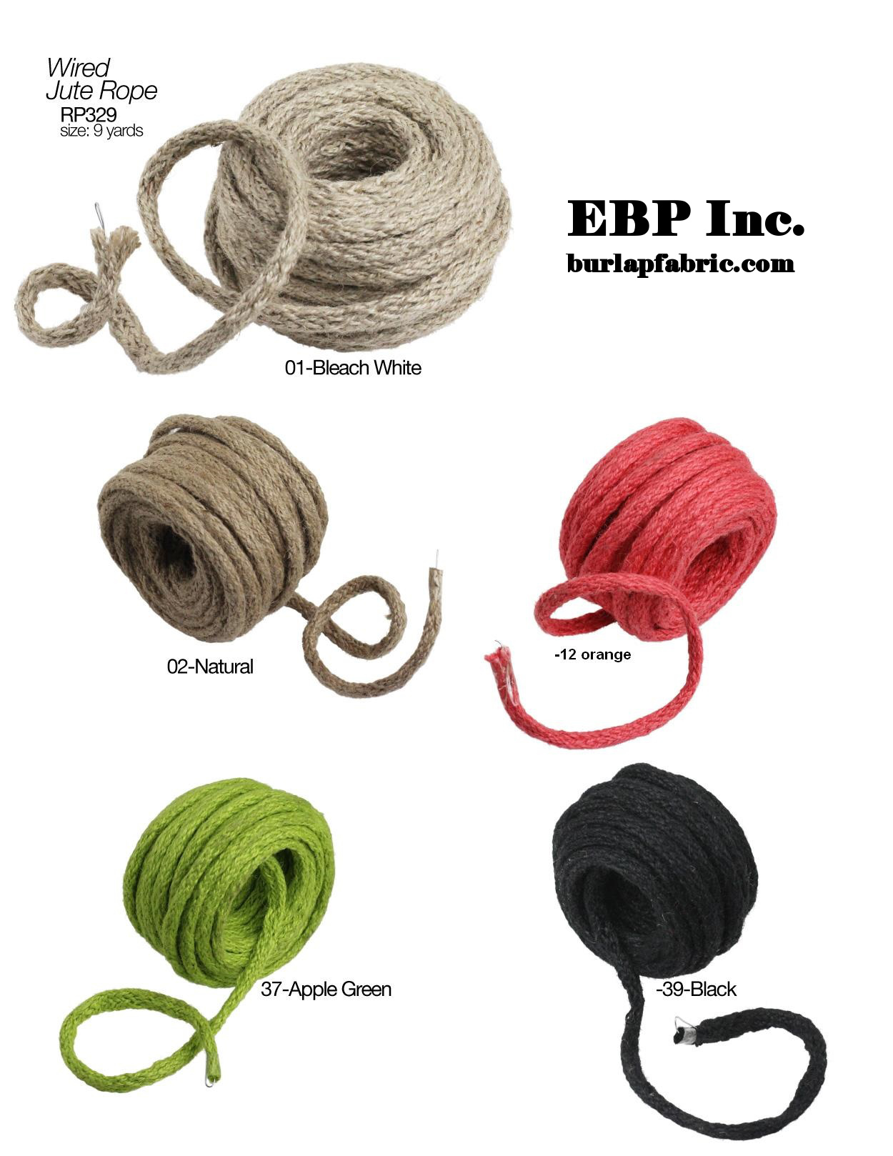 Wired Jute Twine