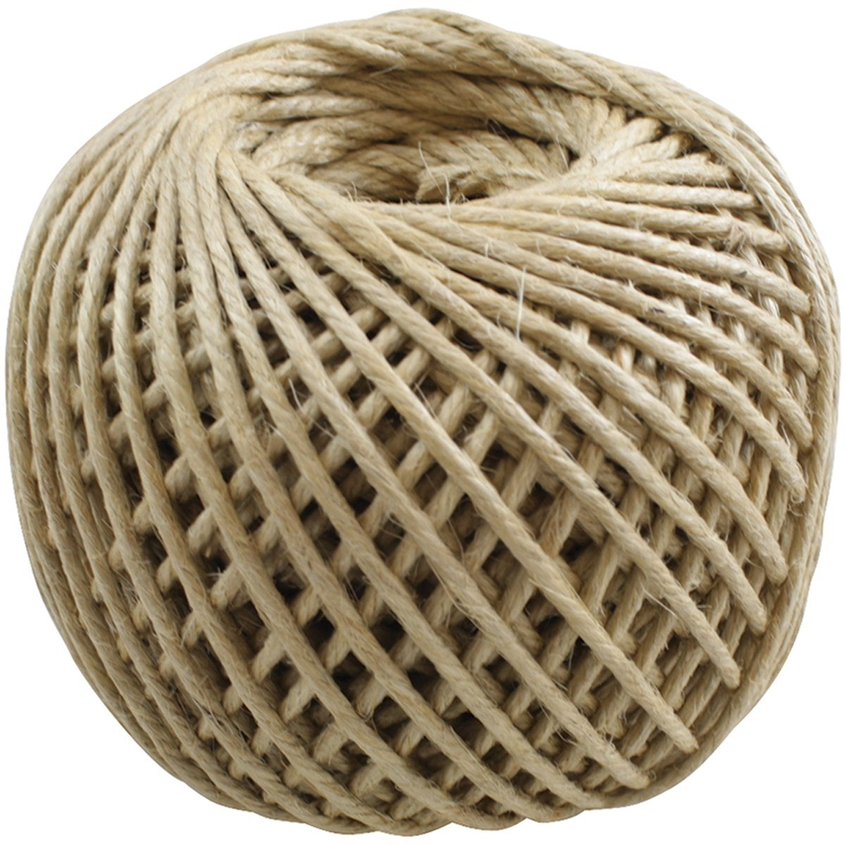 Natural Jute Twine 4-Ply Ball Shape 100 Yards
