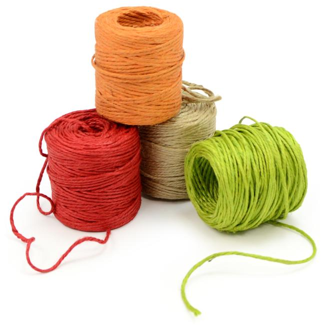 3-Ply Jute Twine (8 Colors)