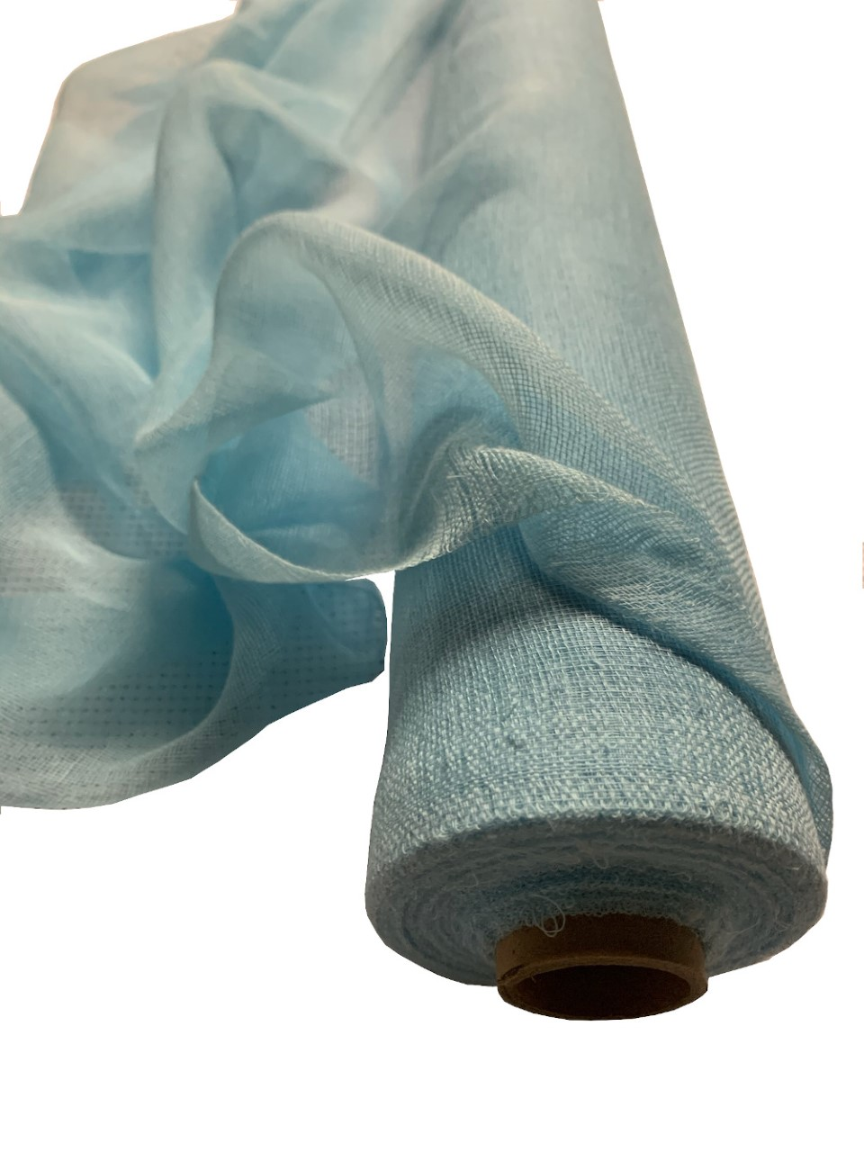 "36"" Wide Light Blue Cheesecloth By The Yard - 100% Cotton"