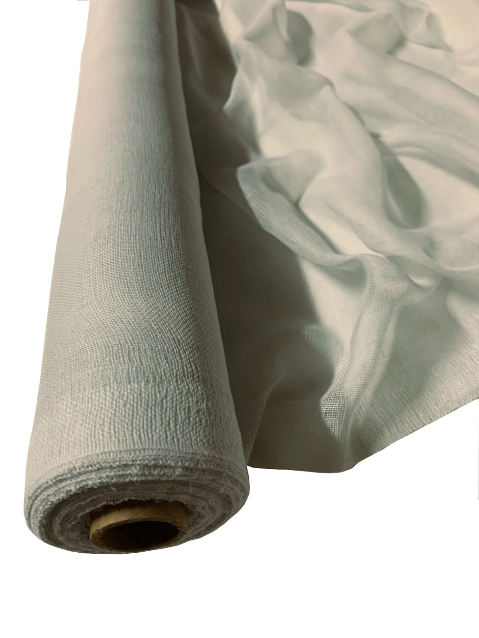 "36"" Wide Light Grey Cheesecloth By The Yard - 100% Cotton"