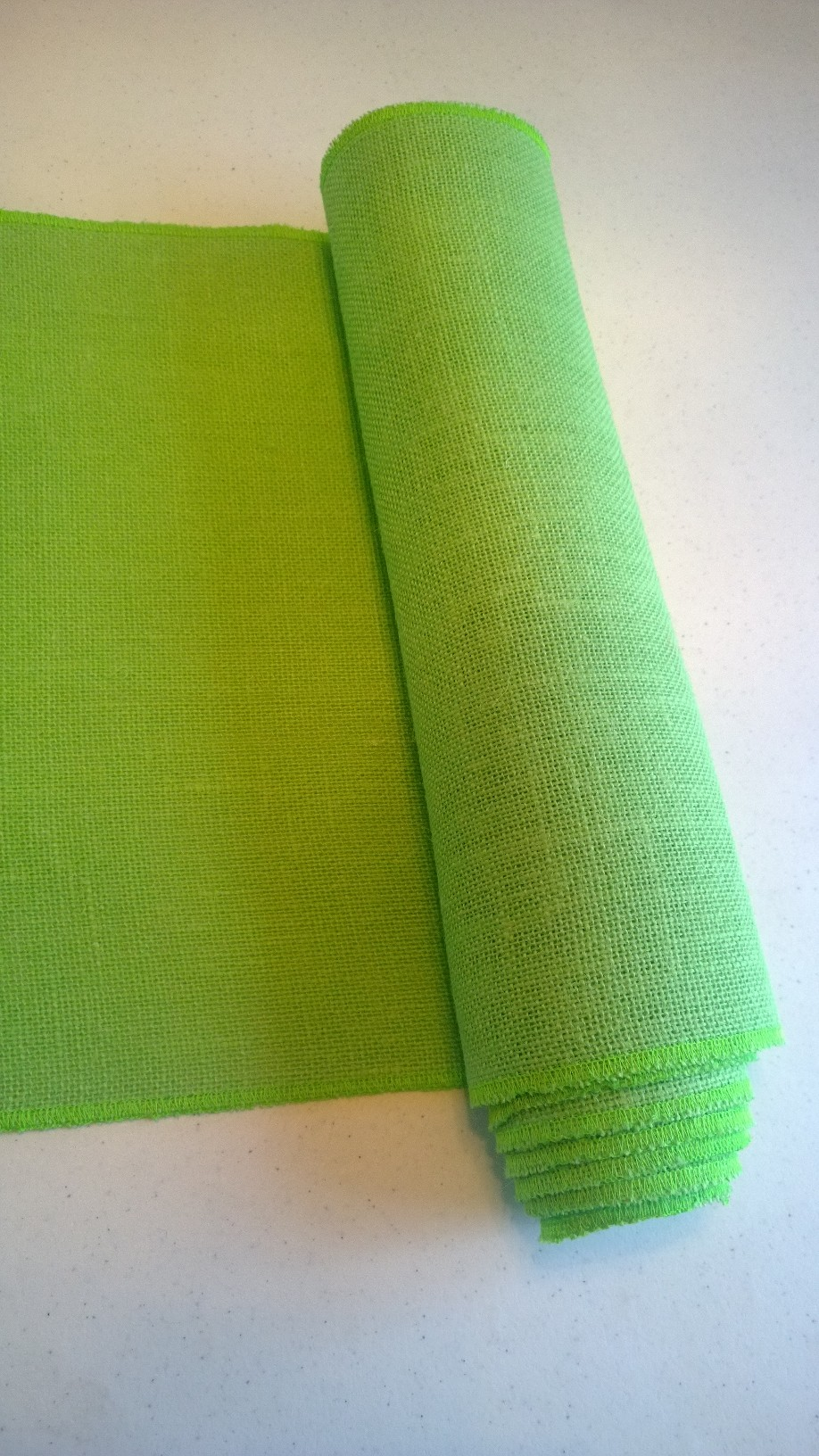 Lime Table Runner