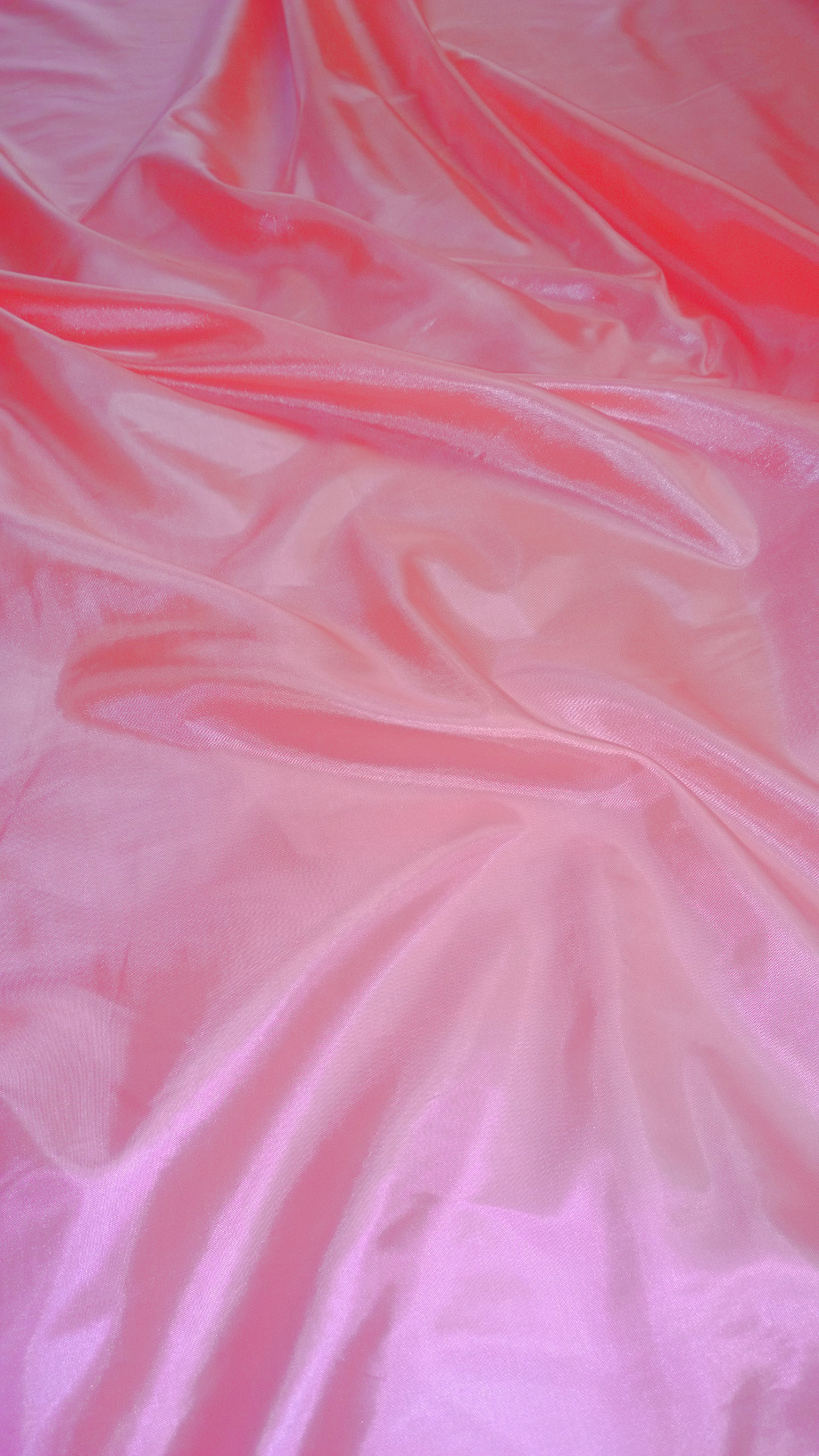 "Neon Pink Habotai Fabric 60"" - By The Yard"