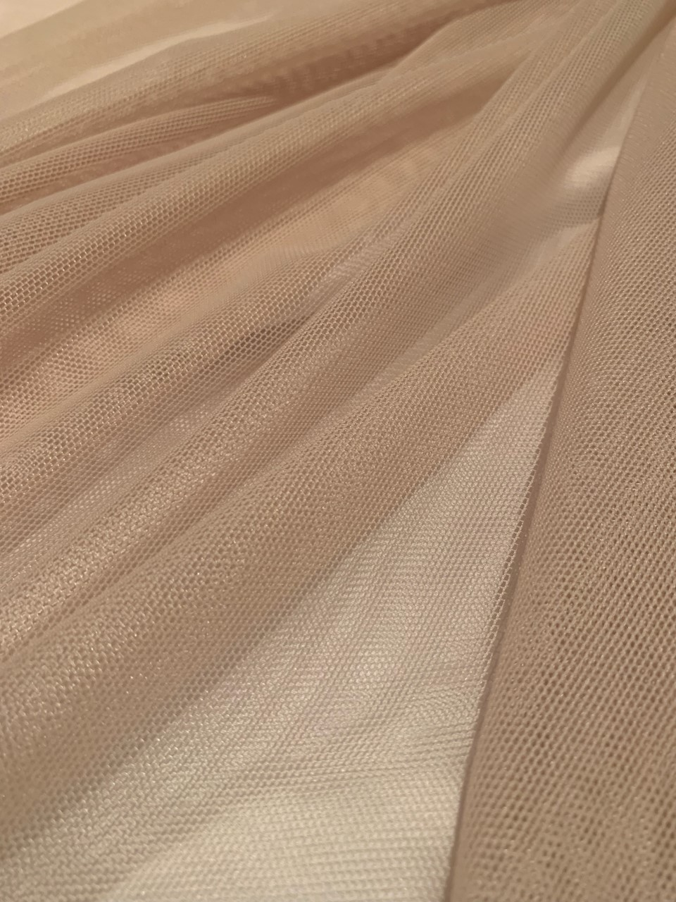 "60"" Nude Power Mesh Fabric 80% Poly 20% Spandex Per Yard"
