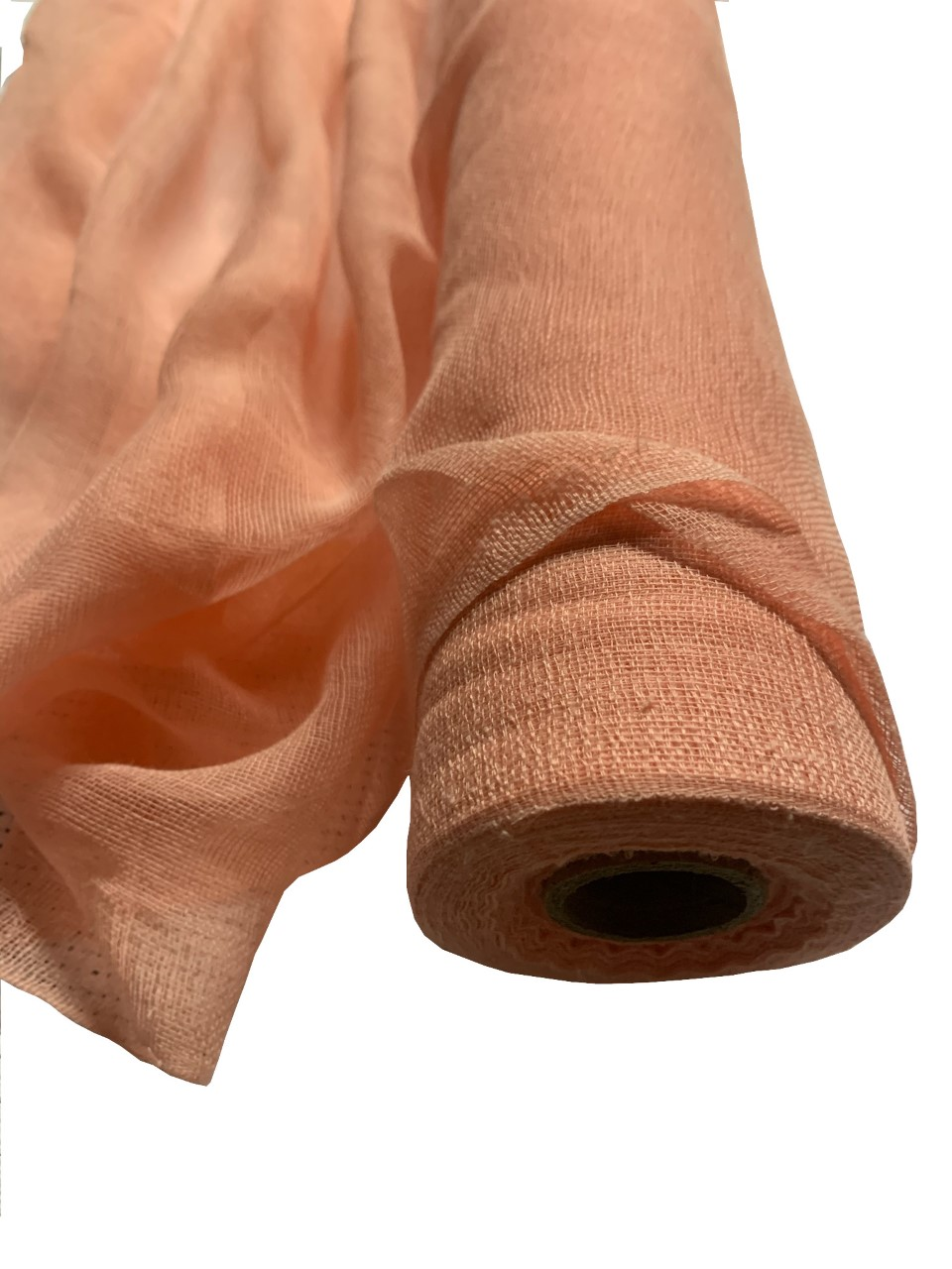 "36"" Wide Peach Cheesecloth By The Yard - 100% Cotton"