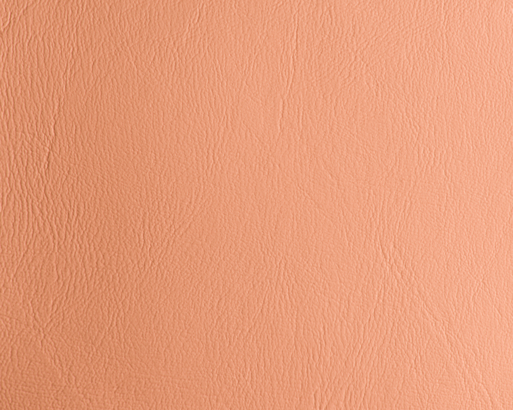 "54"" Peach Leather Like Upholstery Vinyl - Per Yard"