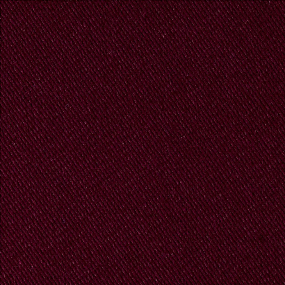 "Port Wine Bull Denim - 60"" Per Yard"