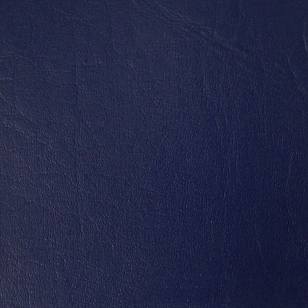 "54"" Royal Blue Leather Like Upholstery Vinyl - Per Yard"